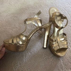 Michael lord gold heels